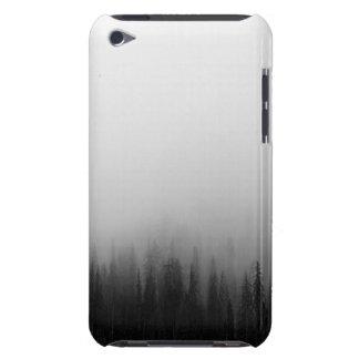 Forest Nature Landscape Scene Foggy Mystical iPod Case-Mate Cases
