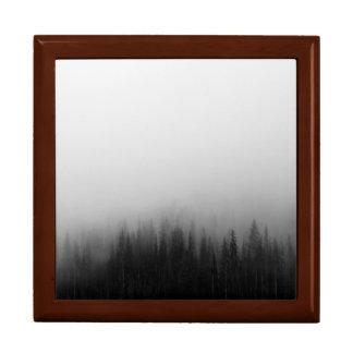 Forest Nature Landscape Scene Foggy Mystical Trinket Boxes