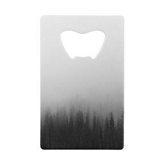 Forest Nature Landscape Scene Foggy Mystical Wallet Bottle Opener