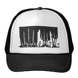 Forest of Legs Hats