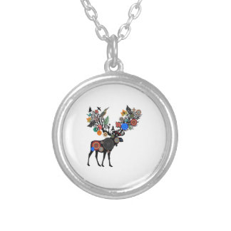 FOREST OF LIFE SILVER PLATED NECKLACE