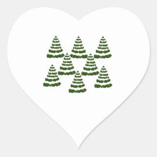 FOREST OF WONDERS HEART STICKER