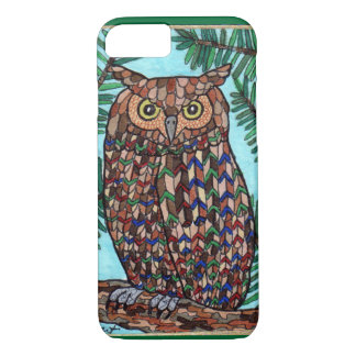 Forest Owl iPhone 7 Case