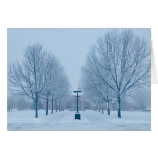 Forest Park School Blank Greeting Card