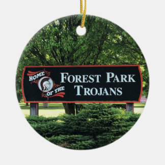 Forest Park School Ornament