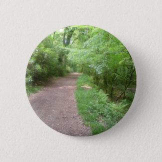 Forest Path 2 Inch Round Button