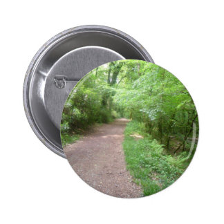 Forest Path 2 Inch Round Button