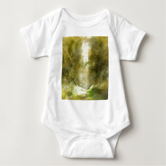 Forest Path Baby Bodysuit
