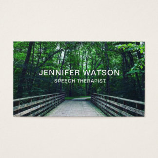 Forest Path business card