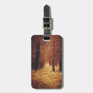 Forest Path ... Luggage Tag