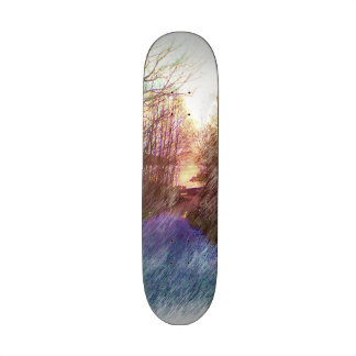 Forest Path Skateboard Deck