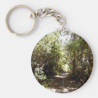 Forest Pathway Keychain