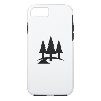 Forest Pictogram iPhone 7 Case