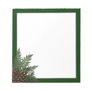 Forest Pine & Ferns Notepad