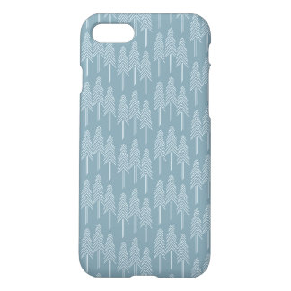 Forest Pine Trees Case - Soft Blue