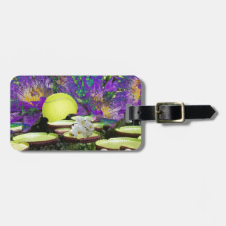 Forest Pond and Tennis Luggage Tag