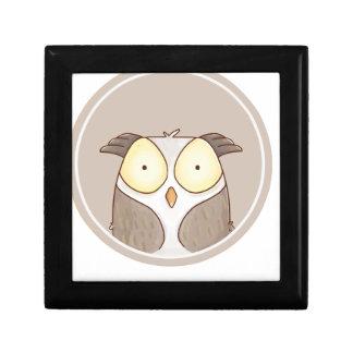 Forest portrait owl gift box