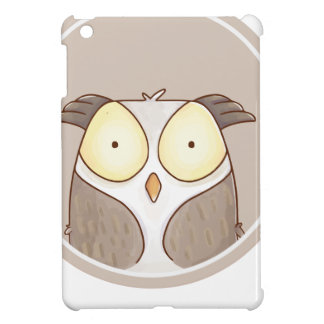 Forest portrait owl iPad mini cover
