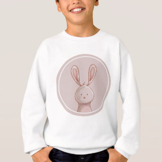 Forest portrait rabbit sweatshirt