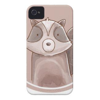 Forest portrait raccoon Case-Mate iPhone 4 case