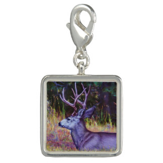 Forest Prince, Mule Deer Buck Photo Charm