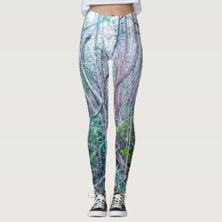 Forest Print Leggings