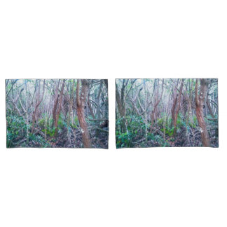 Forest Print Pillow Cases