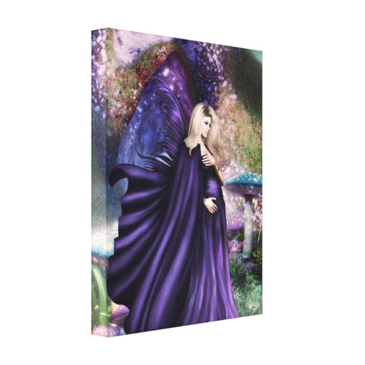 Forest Queen Stretched Canvas Prints