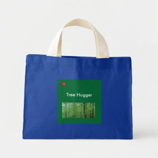 Forest, -Red-Eyed-Tree-Frog, Tree Hugger Mini Tote Bag