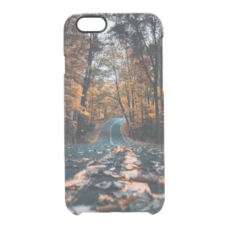 Forest Road Clear iPhone 6/6S Case