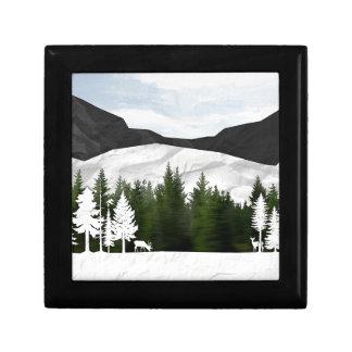 Forest Scene Gift Box