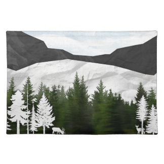 Forest Scene Placemat