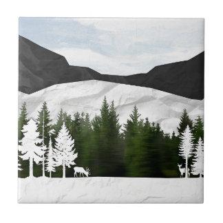 Forest Scene Tile