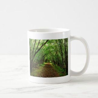 Forest Scene with Path Coffee Mug