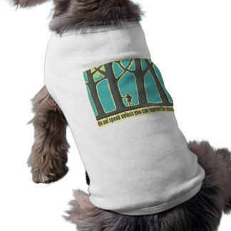 Forest Silence Pet Clothing