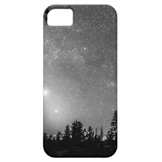 Forest Silhouettes Constellation Astronomy Gazing iPhone 5 Case