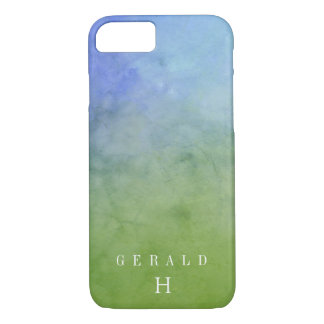FOREST SKY Watercolor Wash Personalized iPhone 8/7 Case