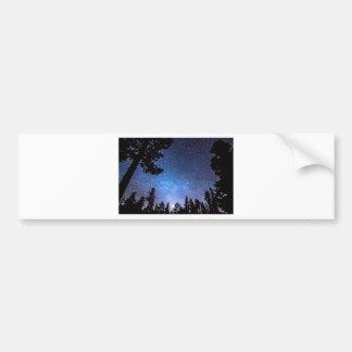 Forest Star Gazing An Astronomy Delight Bumper Sticker