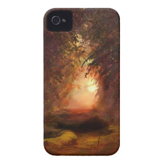 Forest Sunset iPhone 4 Cases