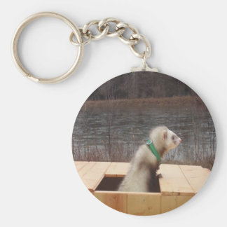 Forest the Ferret Accessories Keychain