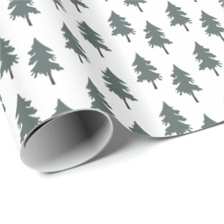 Forest trees. Desert Life. goes w Foxes card Wrapping Paper