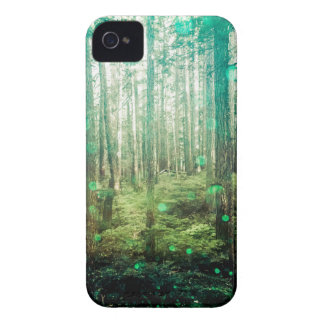 Forest Trees - In the Woods Pattern iPhone 4 Cover