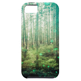 Forest Trees - In the Woods Pattern iPhone 5 Covers