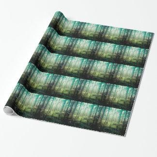 Forest Trees - In the Woods Pattern Wrapping Paper