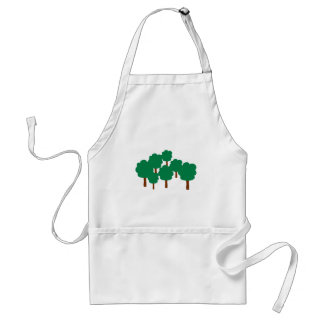 Forest trees standard apron