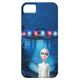 Forest UFO Close Encounter iPhone 5 Case