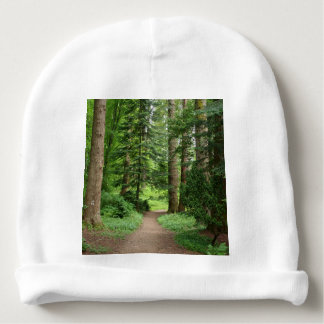 Forest walk, highlands, Scotland Baby Beanie