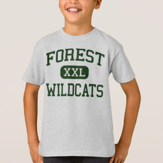 Forest - Wildcats - High School - Ocala Florida T-Shirt