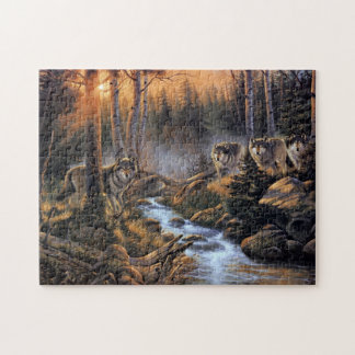 Forest Wolves Puzzle