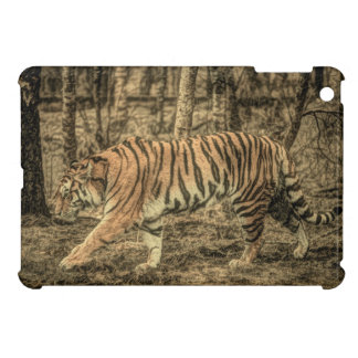 Forest Woodland wildlife Majestic Wild Tiger Case For The iPad Mini